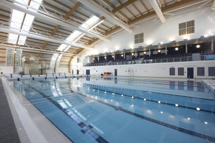 Space place for Corby international swimming pool
